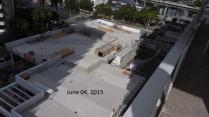 June 4, 2015 West view of West Deck