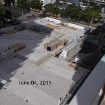 June 4, 2015 West view of West Deck