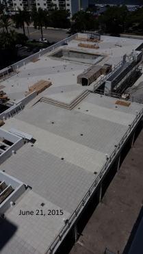 June 22, 2015 West view of West Deck