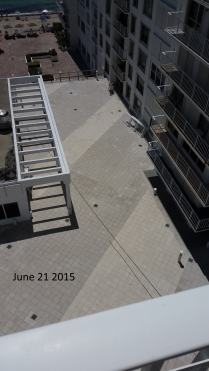 June 21, 2015 East View of West Deck