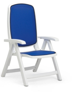 2015 Delta Armchair Blue White