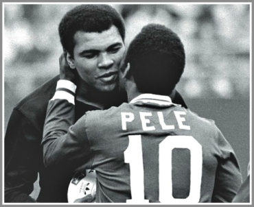 Muhamad Ali and Pele