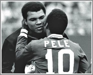 Muhamad Ali and Pele