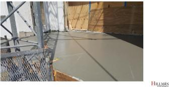 2017 10 12 13 Concrete Poured at Intruded Apartment