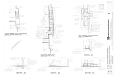 Demolition Plan of Existing E Pool Deck Stairs