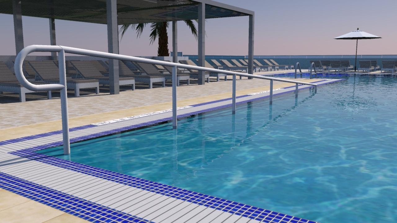 East Deck Pool New Details Aquarius Condominium