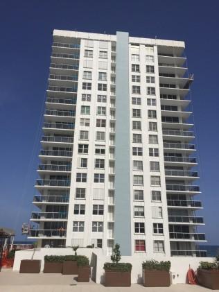 Aquarius S. Tower West Face August 2018