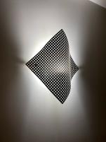 Silver metal wall décor